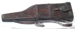 vintage leather gun case for sale