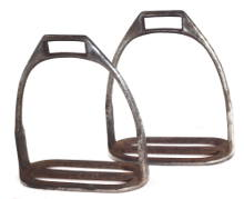 Link to 3 bar yeomanry stirrups for sale